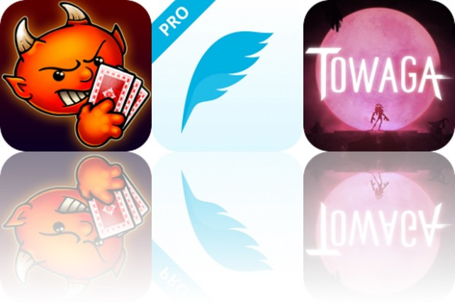 Today's Apps Gone Free: Spite and Malice, Tweety and Towaga