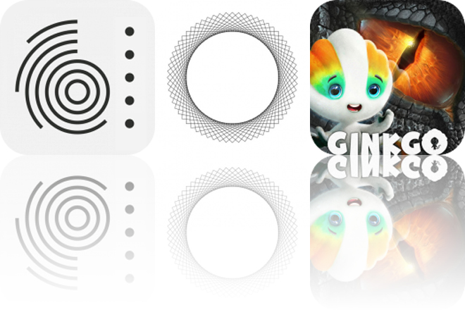 Today's Apps Gone Free: Glazba, Pulse Breathing and Ginkgo Dino