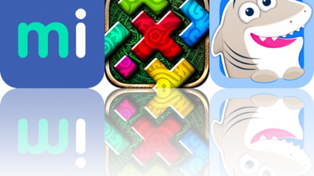 Today's Apps Gone Free: Migraine Insight, Montezuma Puzzle 4 and Nice Shark