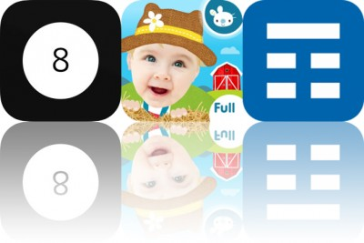 Today's Apps Gone Free: Modern Magic 8 Ball, Peek a Boo Farm Animals and Week Calendar Widget