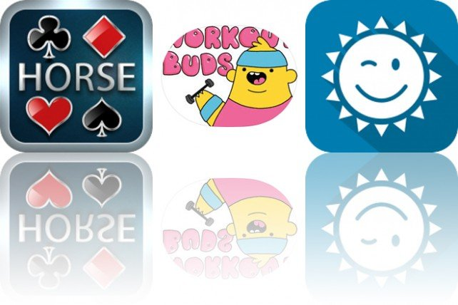 Today's Apps Gone Free: Horse Poker Calculator, Workout Buds and YoWindow