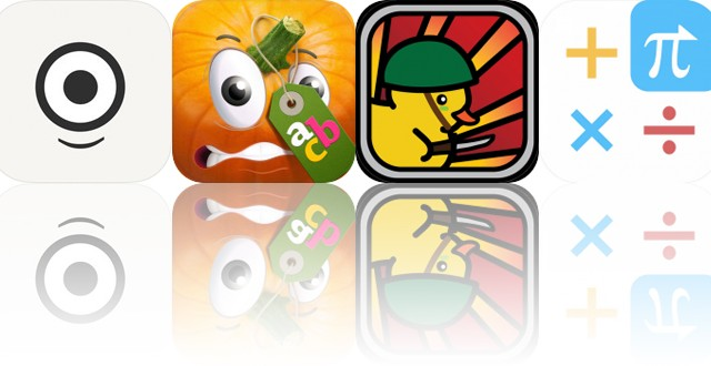 Today's Apps Gone Free: Fishi, Moona Veggies, Duck Warfare and More