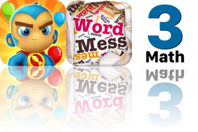 Today's Apps Gone Free: Bloons Supermonkey 2, Word Mess and 3rd Grade Math Testing Prep