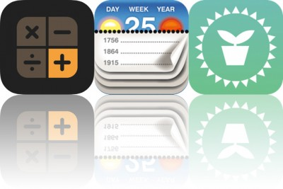 Today's Apps Gone Free: Kalkulator, Calendarium and Plant Light Meter