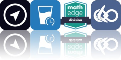 Today's Apps Gone Free: MyTracks, Water Balance Tracker, MathEdge Division and More