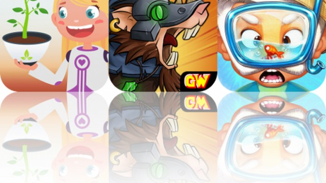 Today's Apps Gone Free: Tiny Trees, Doomwheel and A Parcel of Courage