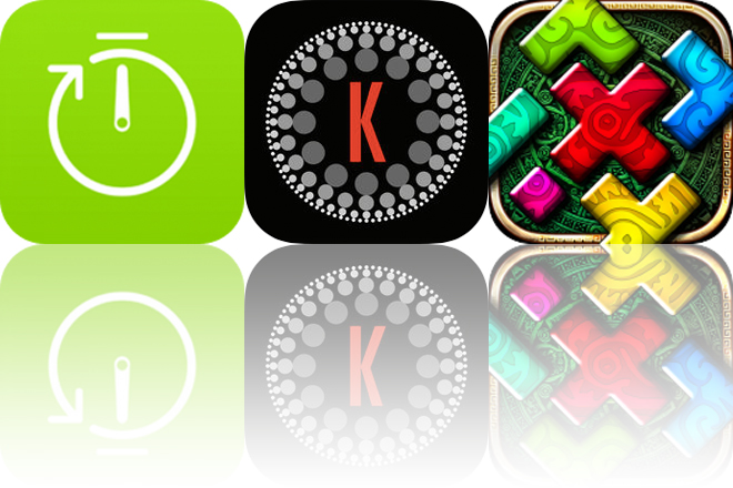 Today's Apps Gone Free: Simple Repeat Timer, Kompressor and Montezuma Puzzle 4