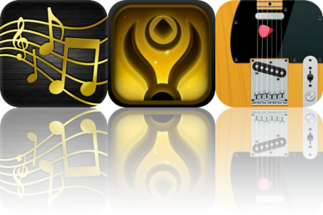 Today's Apps Gone Free: iHarmony, Pursuit of Light and Fretboard Hero