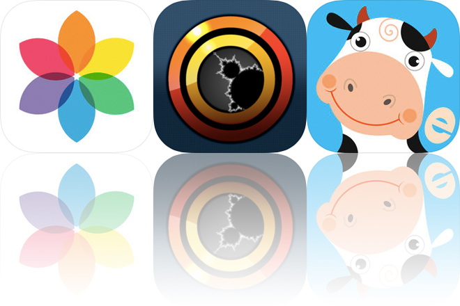 Today's Apps Gone Free: Rollit, Fractoscope and Animal Farm Puzzle